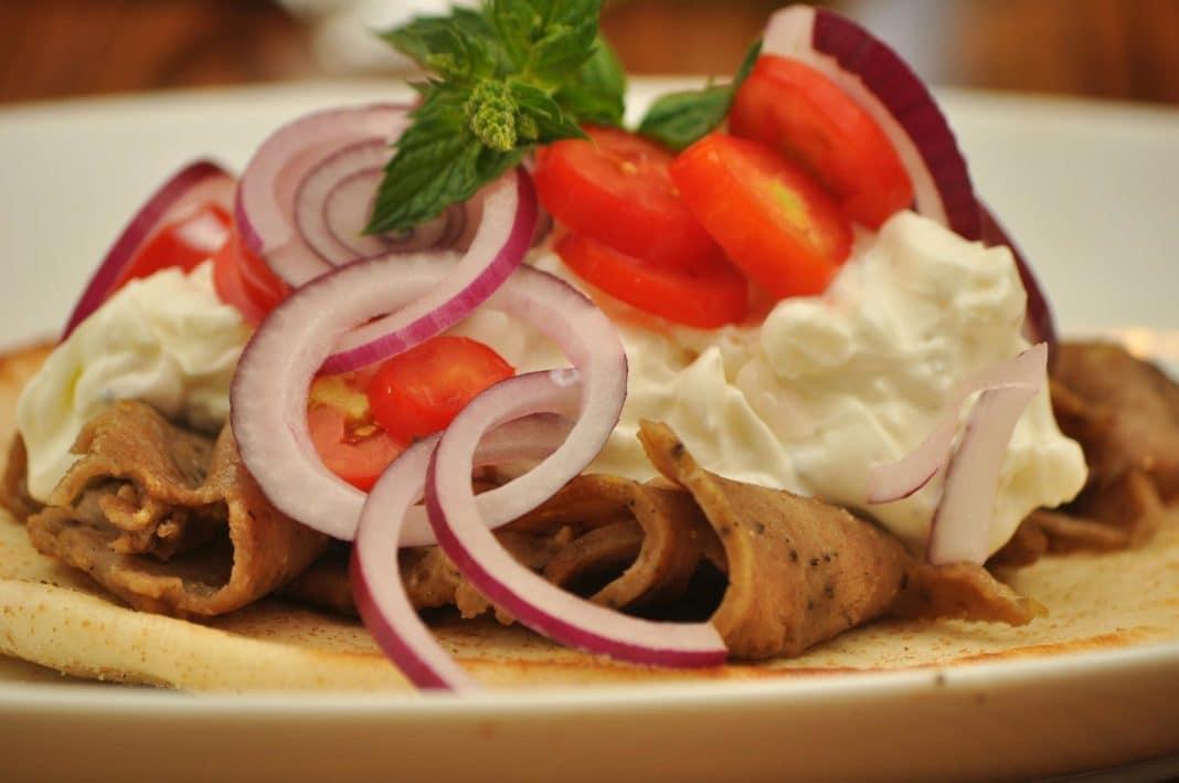 Mediterranean food - Gyro
