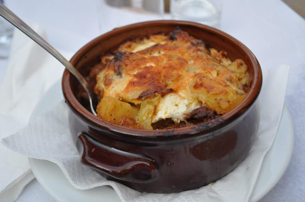 Mediterranean food - Moussaka