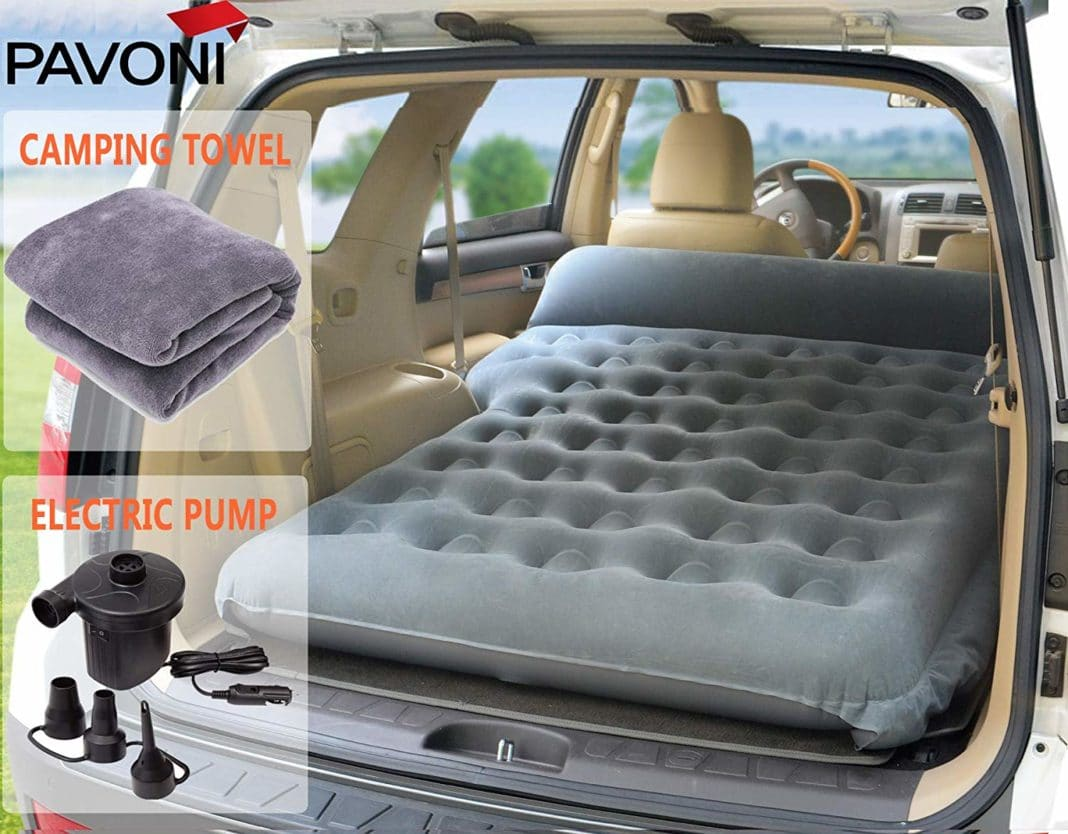 PAVONI Car Inflatable Air Camping Mattress Review - trekbible