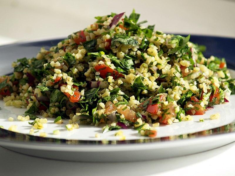 Mediterranean food - Tabouleh