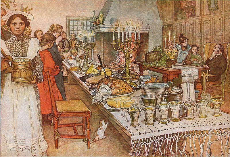 Swedish Christmas traditions - Julafton
