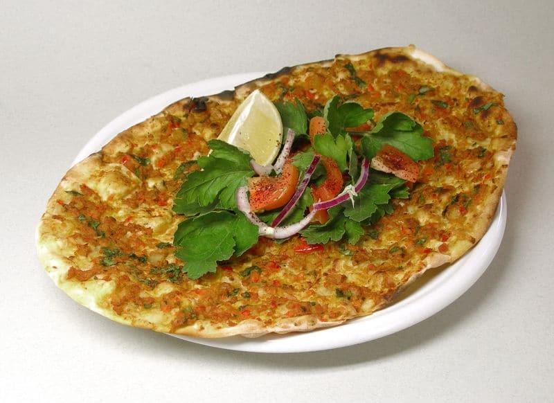 Mediterranean food - Lahmajoun