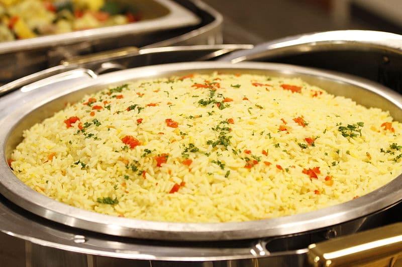 Mediterranean food - Pilaf