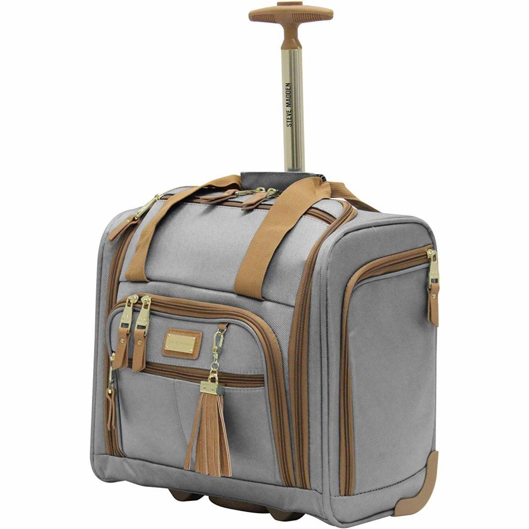 d41bcd45b1a Steve Madden Wheeled Underseat Bag Review - trekbible