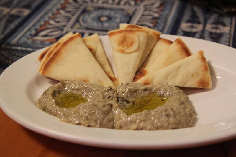 Mediterranean food - Baba Ganoush