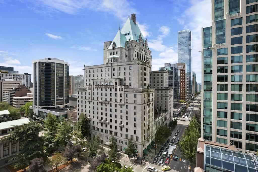 where to stay in Vancouver -  Fairmont Hotel