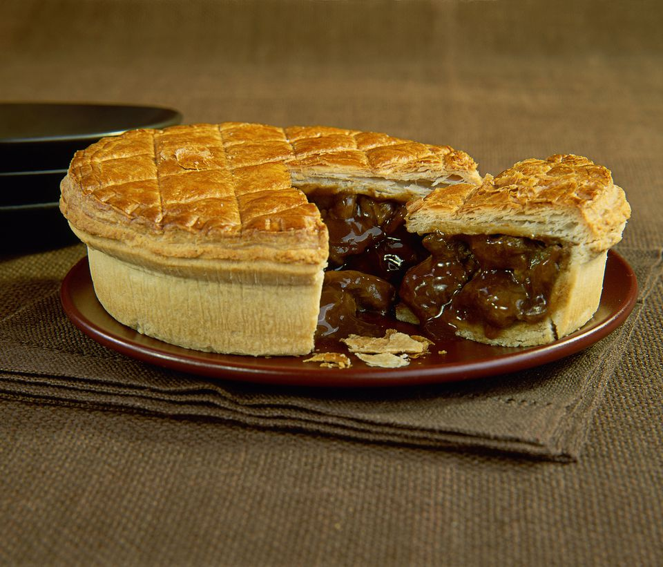 British foods to try in london - Steak and Kidney Pie