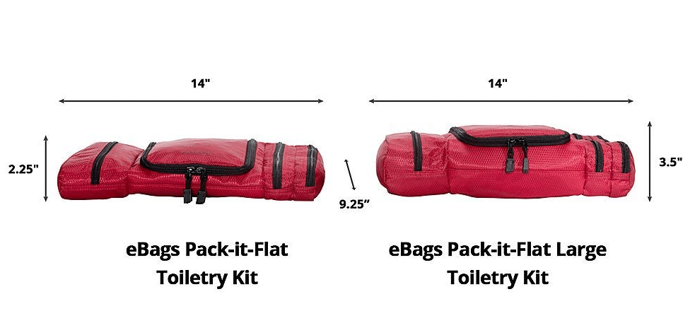 eBags Pack-it-Flat Toiletry Kit - Design