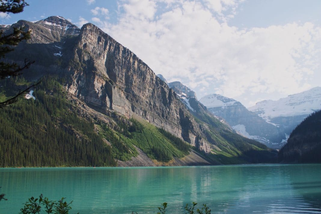 camping in banff - National Park