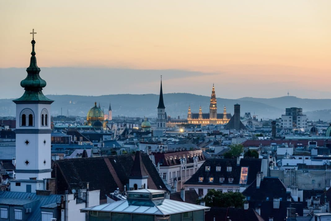 best places to live in Europe - Vienna, Austria