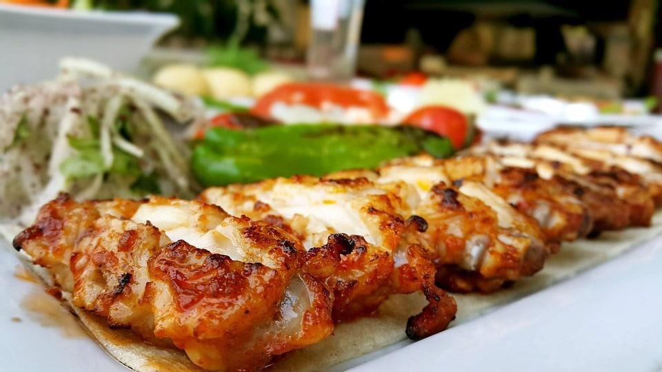 Mediterranean food - Kebab