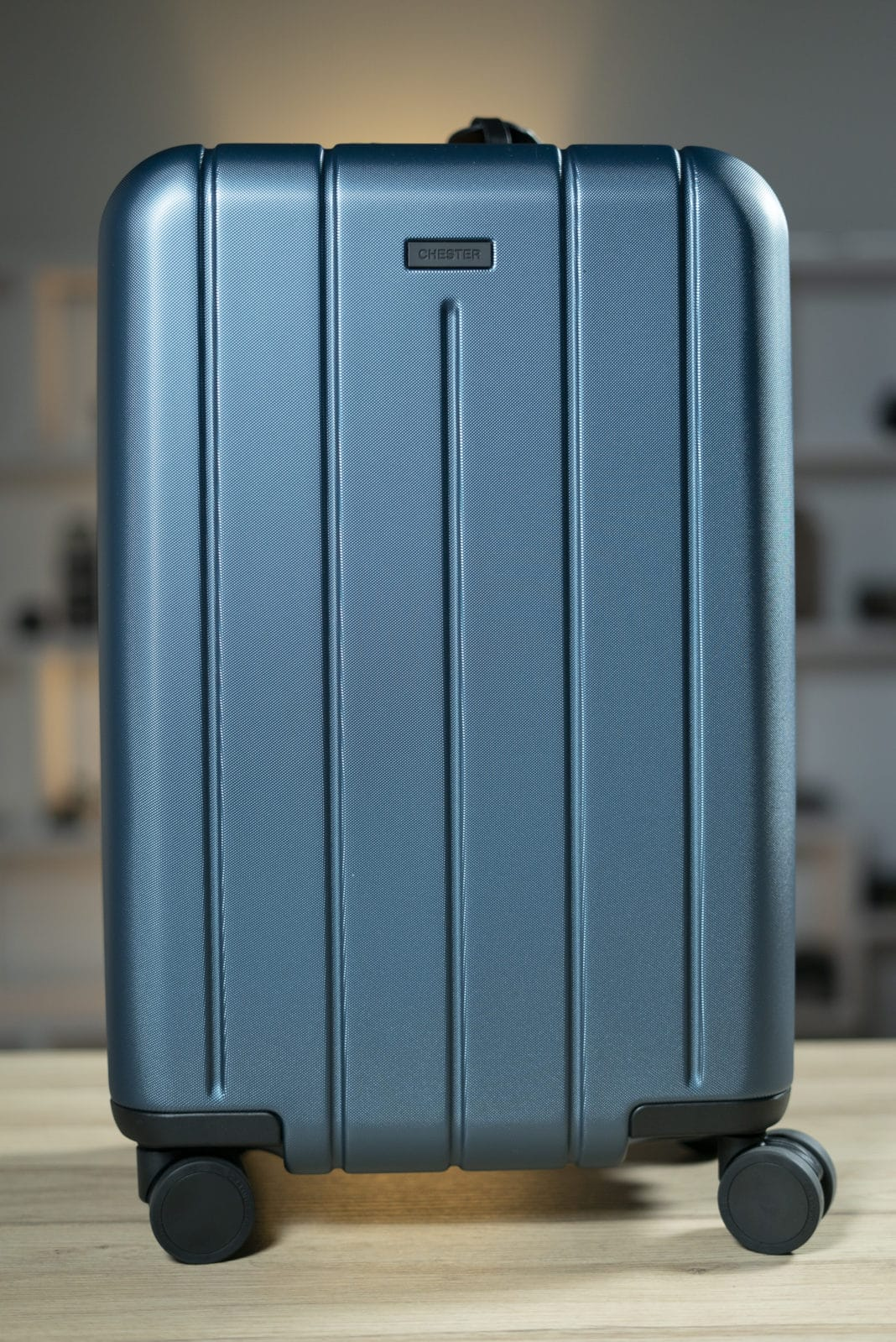 """Chester Carry-On Luggage/22"""" Lightweight Polycarbonate Hardshell"""
