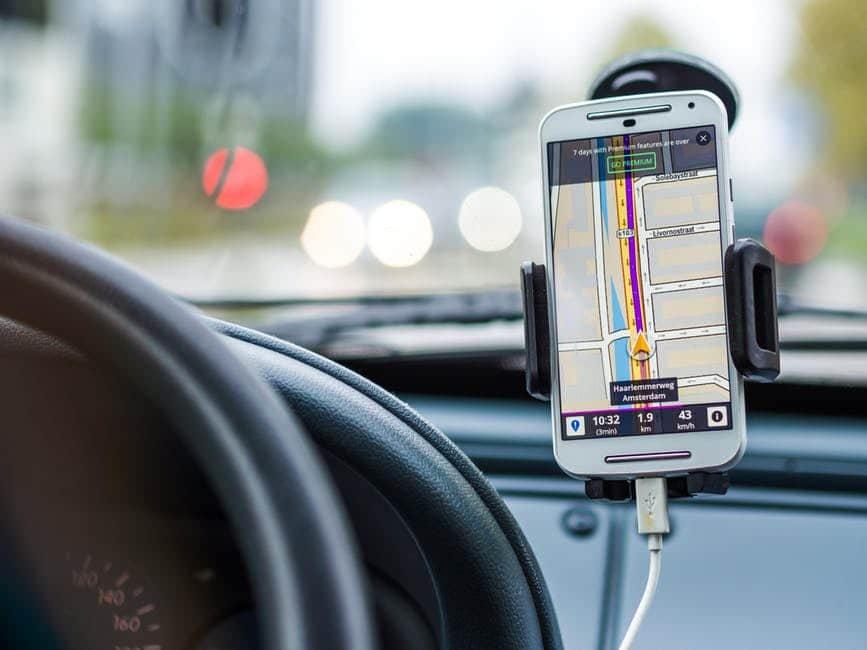 road trip hacks -  Get a Car Stand for Your Phone