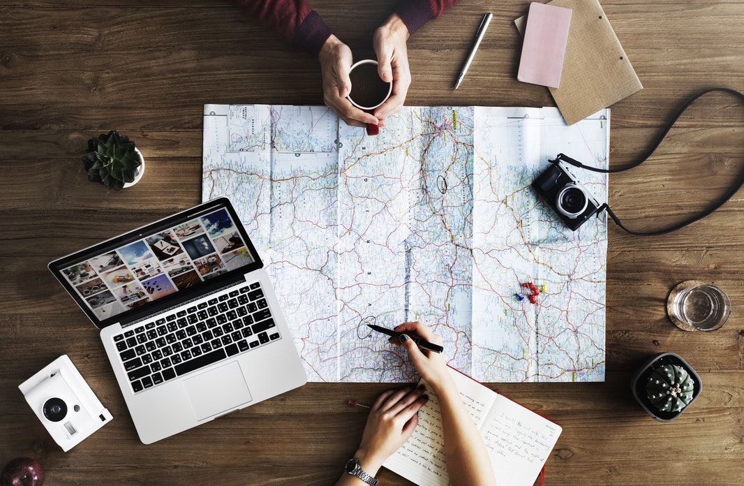 travel necessities - Map