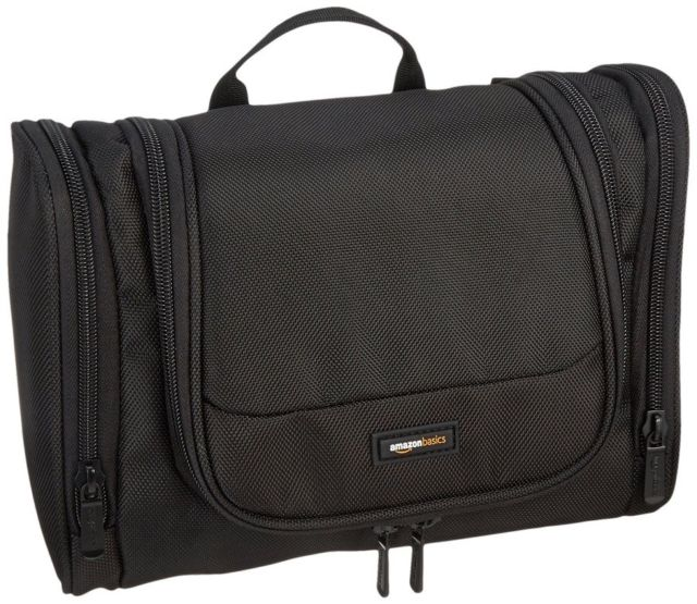 AmazonBasics Hanging Toiletry Kit Review - trekbible a97c73869190a