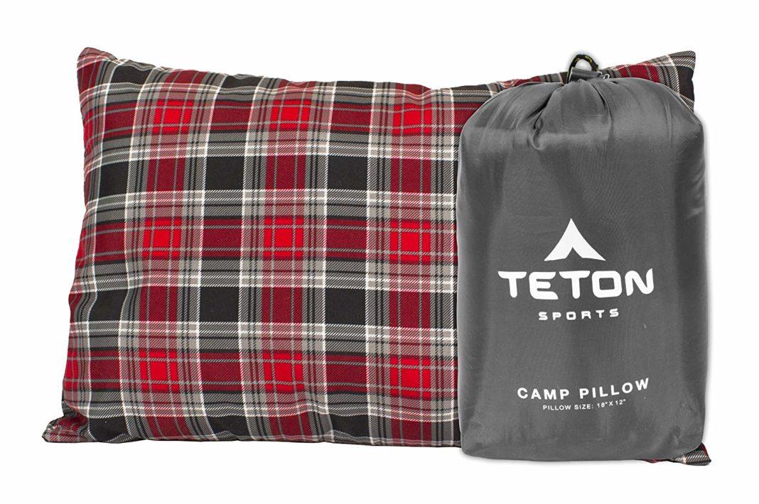 best camping pillow - Teton
