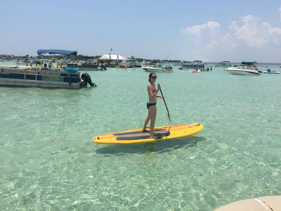 things to do in Destin - Crab Island
