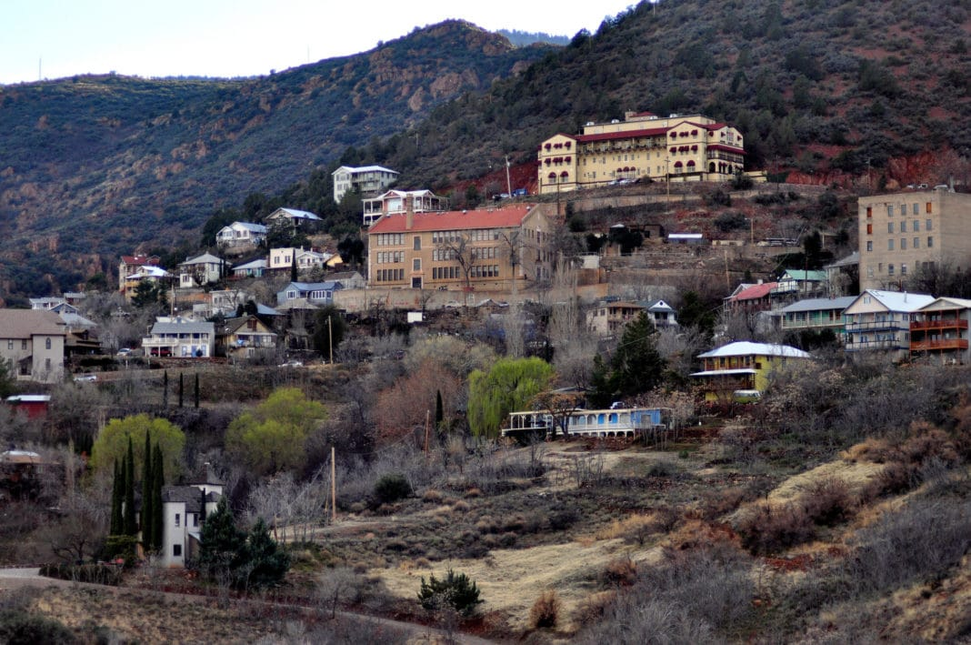 best places to visit in Arizona - Jerome Ghost Town