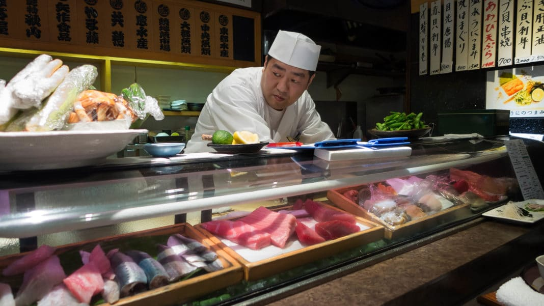 best sushi in tokyo - Sushi Dai (Tsukiji)