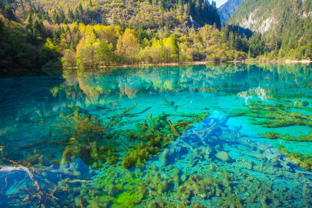 secret travel destinations - Jiuzhaigou Valley National Park