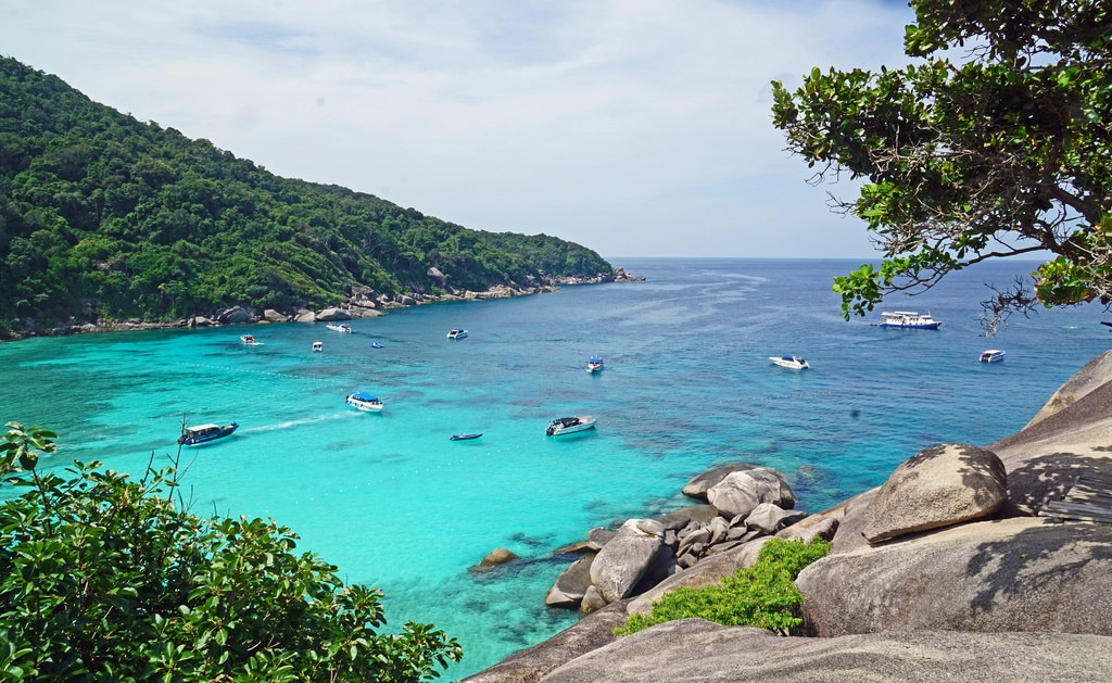 best places to visit in thailand - Similan Islands