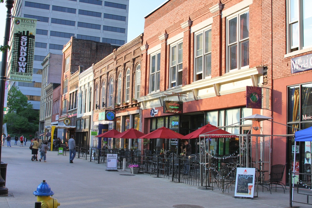 things to do in Knoxville - Market Square