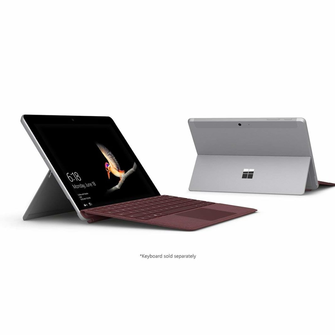 Microsoft surface go - Processing