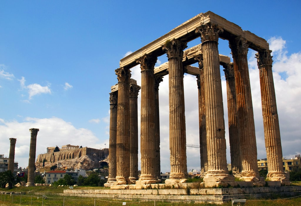 things to do in athens - Olympian Zeus