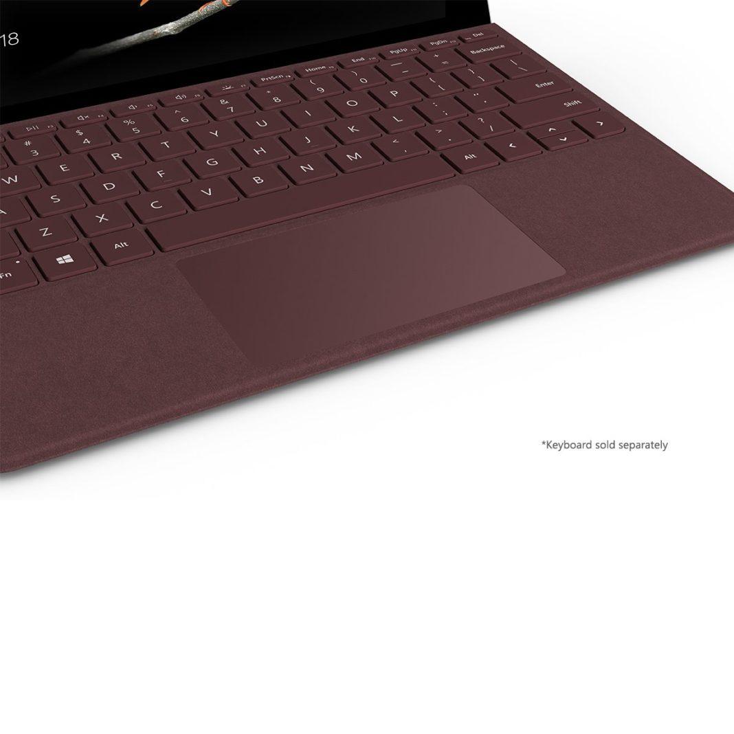 Microsoft surface go - Keyboard and Trackpad
