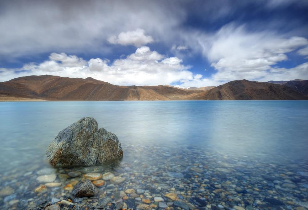 secret travel destinations - Pangong Tso Lake, Himalayas