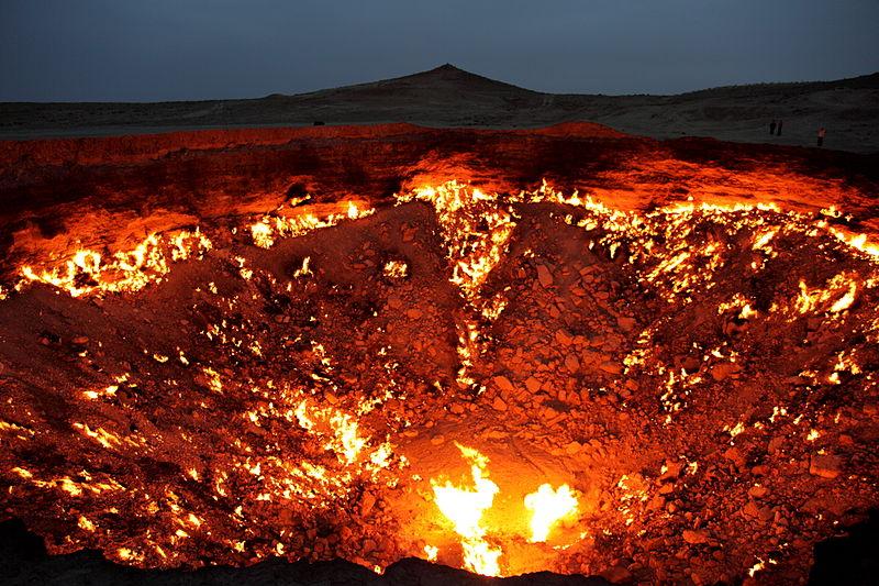 secret travel destinations - Door to Hell, Turkmenistan