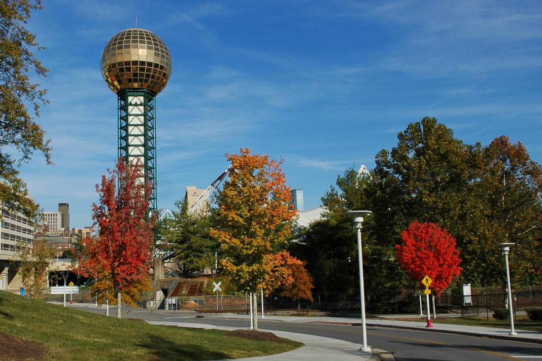 things to do in Knoxville - Sunsphere