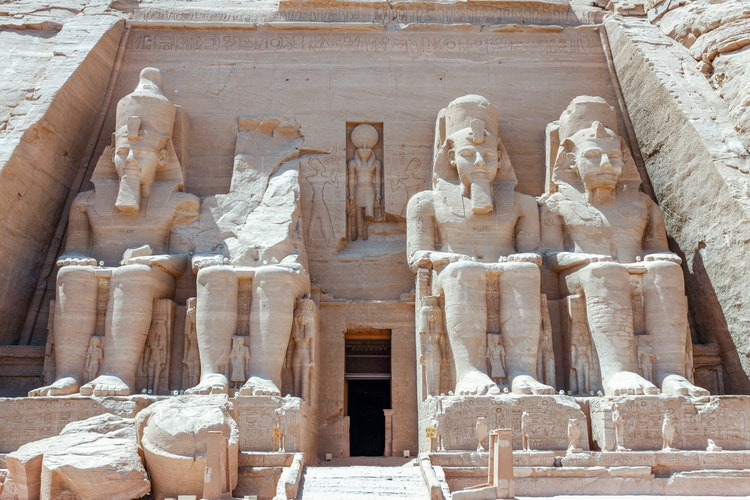 travel to Egypt - Abu Simbel Temples