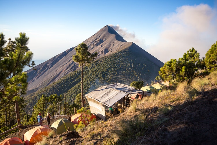 things to do in guatemala - Acatenango Volcano