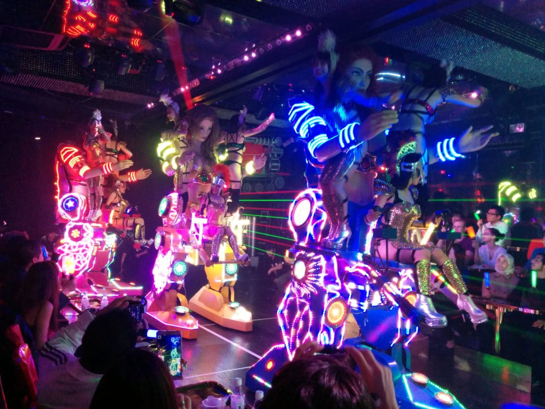 coolest places to visit in Tokyo - Robot Restaurant