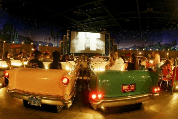 best restaurants in Disney World - Sci-fi Dine-in Theater Restaurant