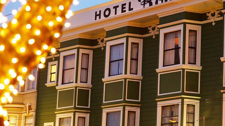 best hotels in San Francisco - Hotel Boheme