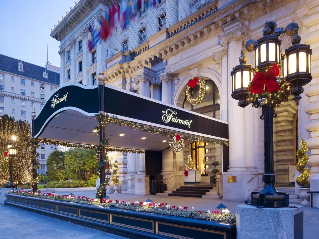 best hotels in San Francisco - Hotel Fairmont