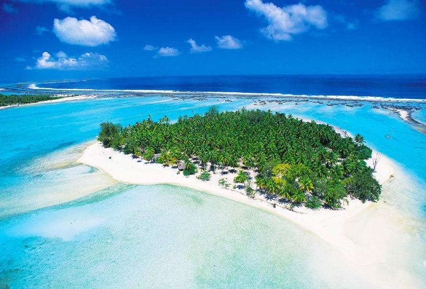 Tahiti resorts - Le Sauvage Private Island, Rangiroa