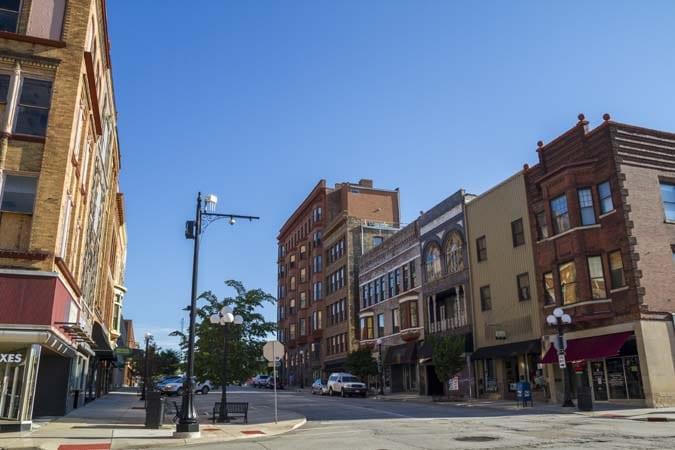 weekend getaways near chicago - Bloomington-Normal