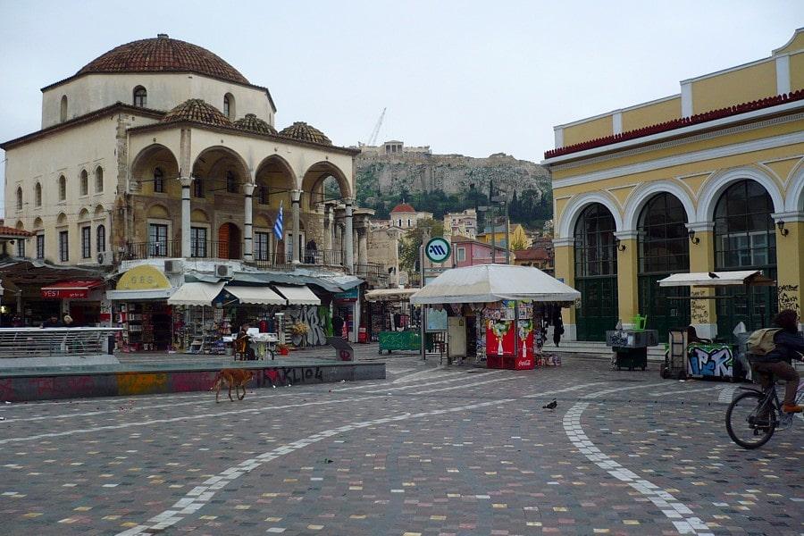 things to do in athens - Monastiraki