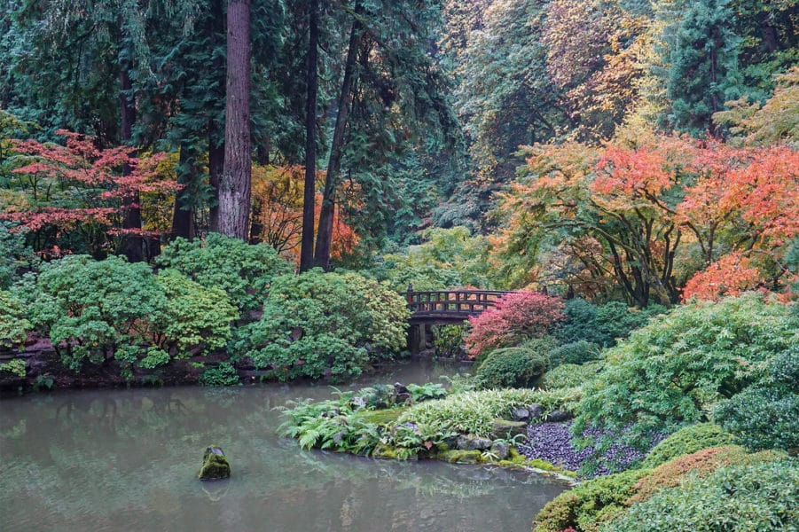 best places to visit in oregon - Portland Japanese Garden