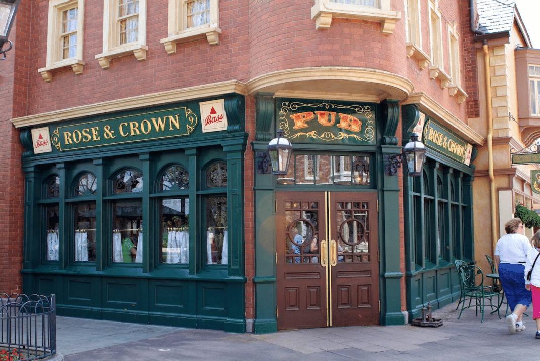 best restaurants in Disney World - Rose & Crown Pub