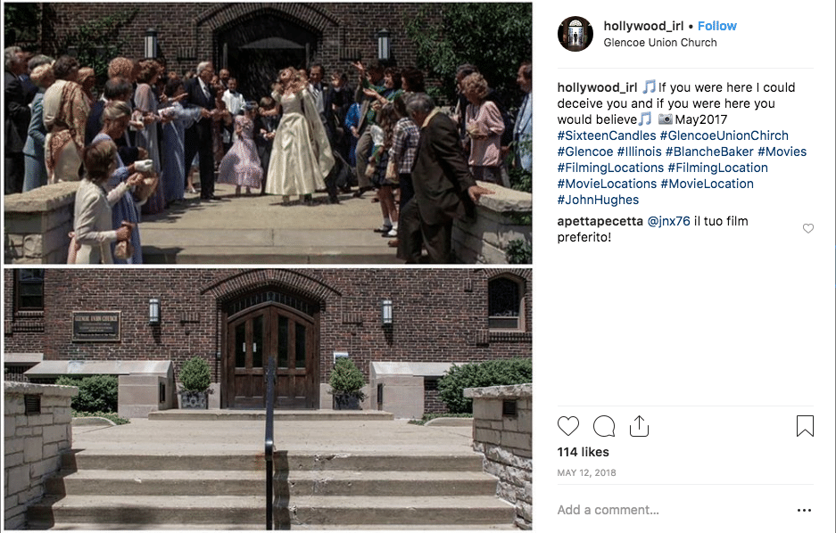 filming locations - Sixteen Candles