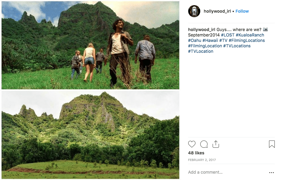 filming locations - LOST