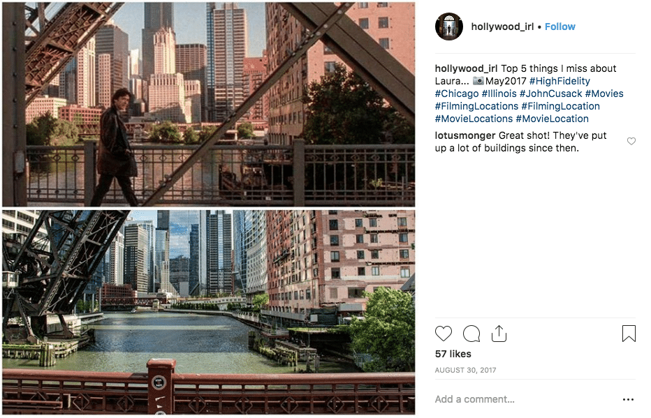 filming locations - High Fidelity