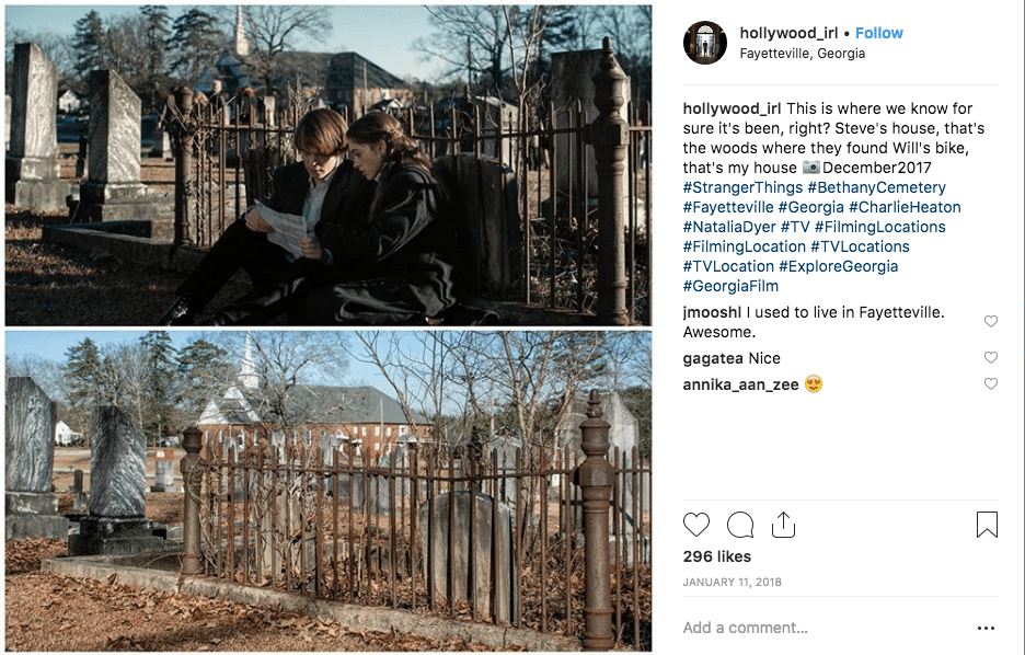 filming locations - Stranger Things