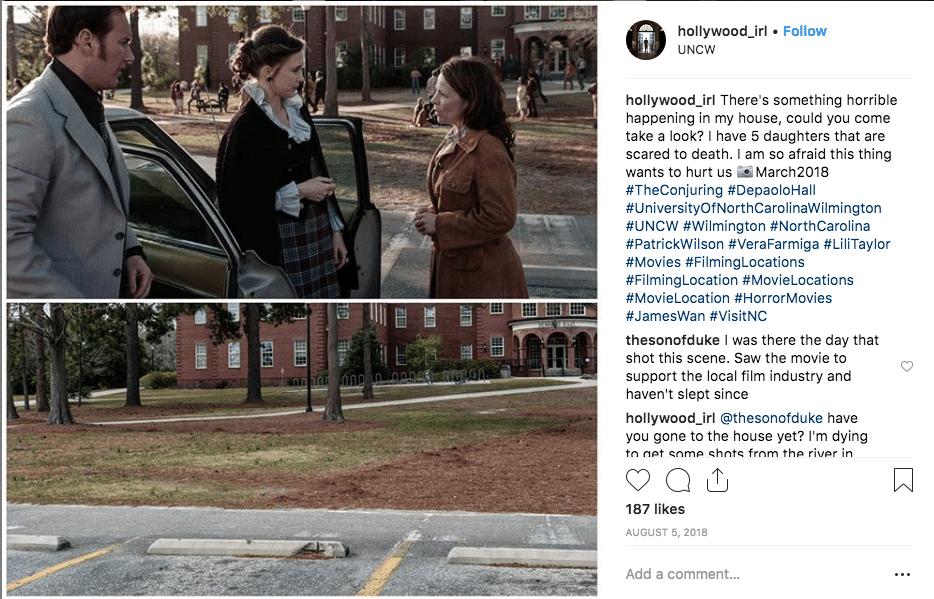 filming locations - Conjuring