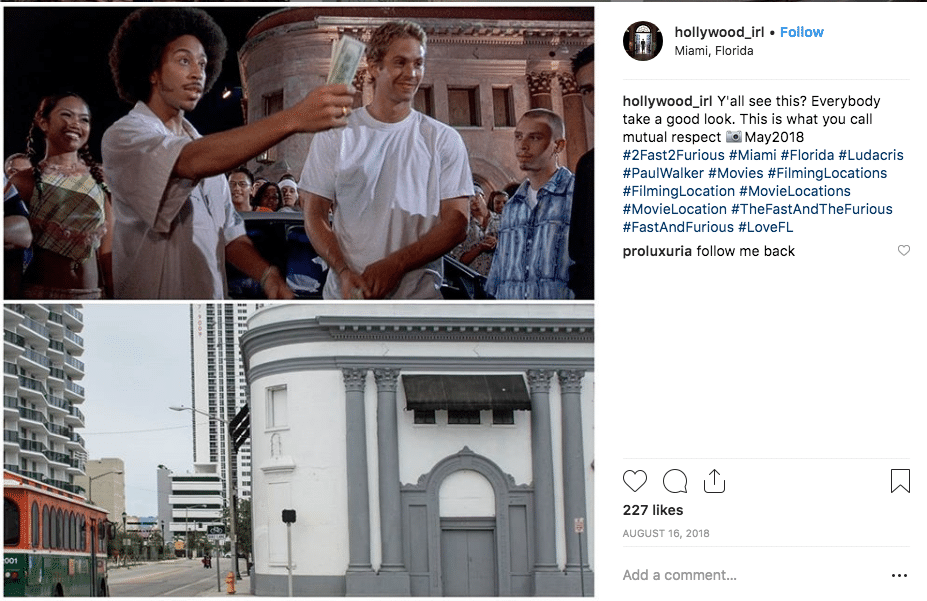 filming locations - 2 Fast 2 Furious