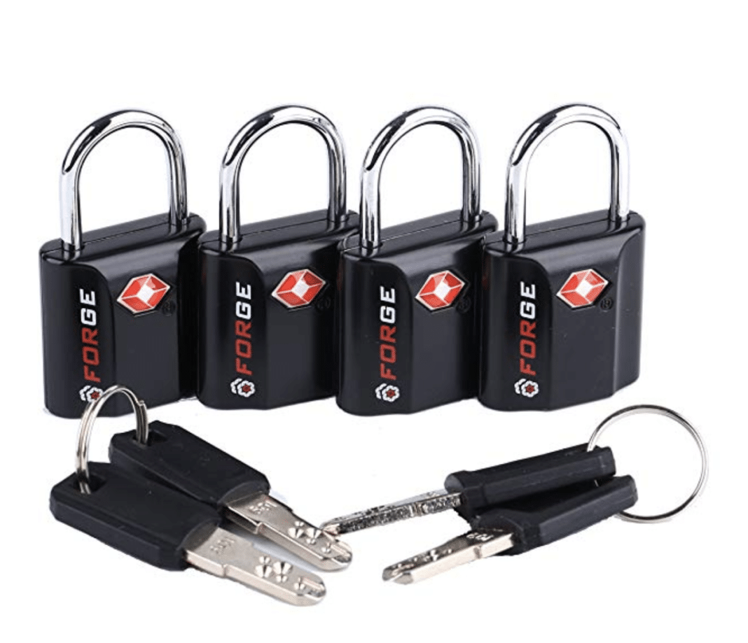 tsa approved locks - Forge TSA Approved Luggage Locks